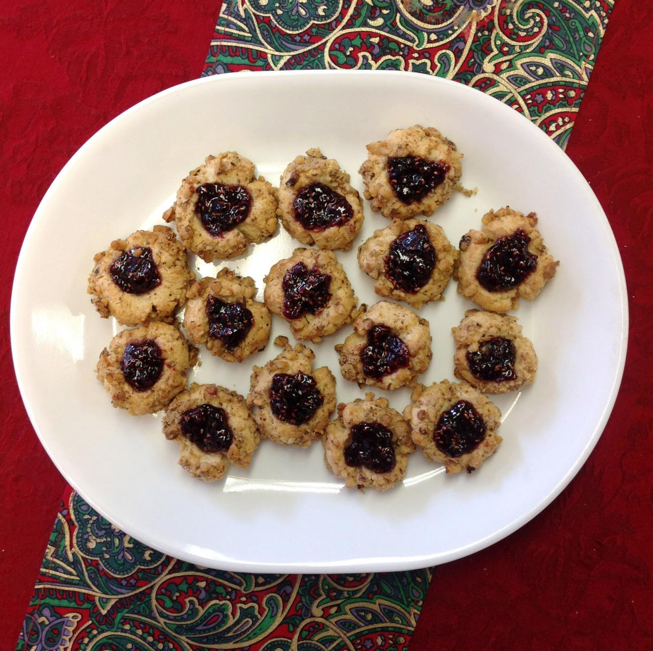 Recipe for Thumbprint Cookies