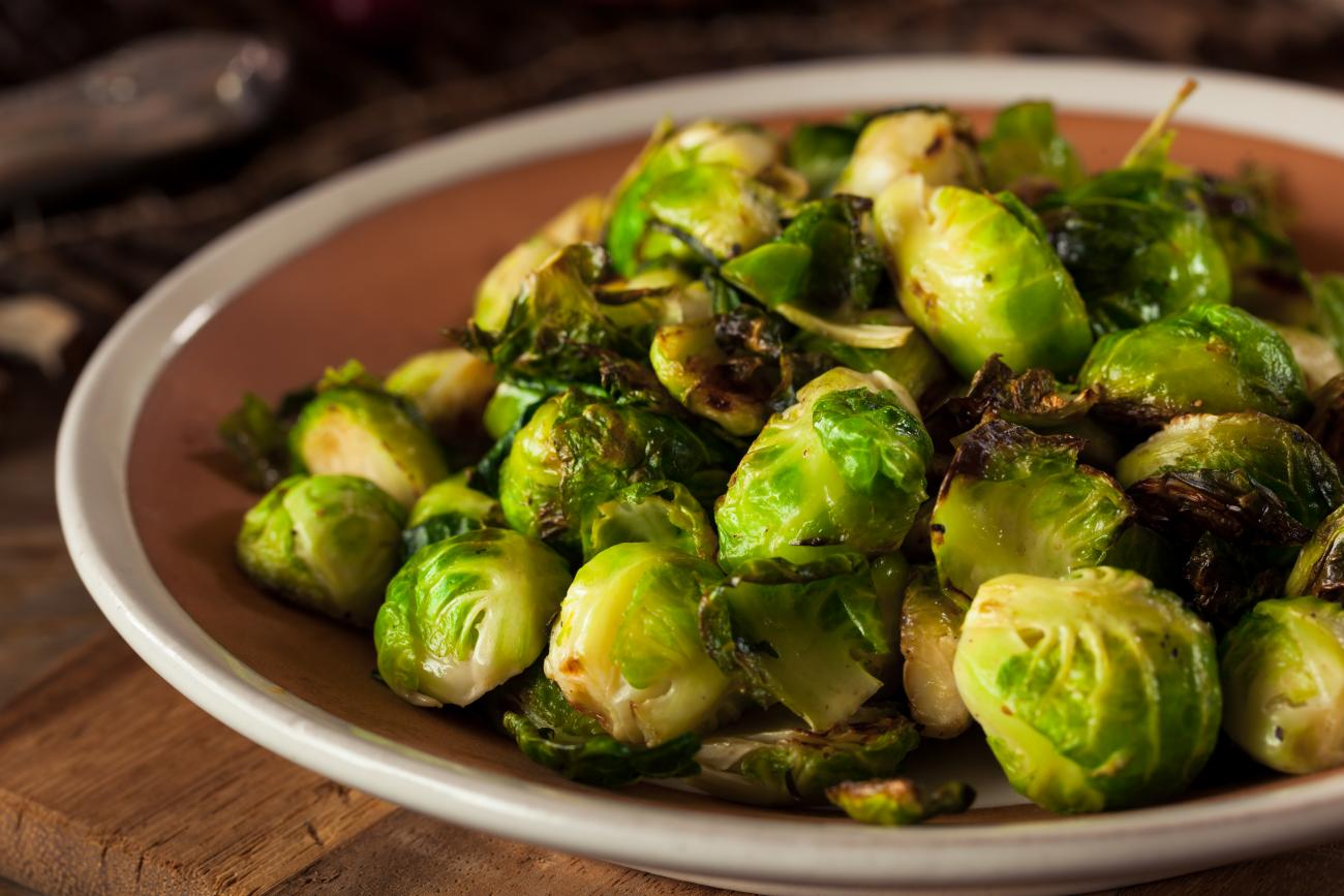 Recipe for Easiest Brussels Sprouts