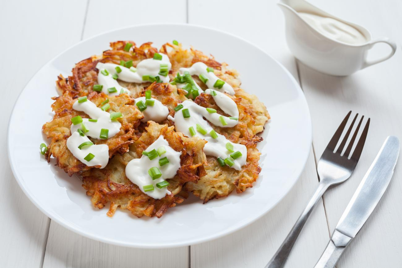 Recipe for Latkes Recipe