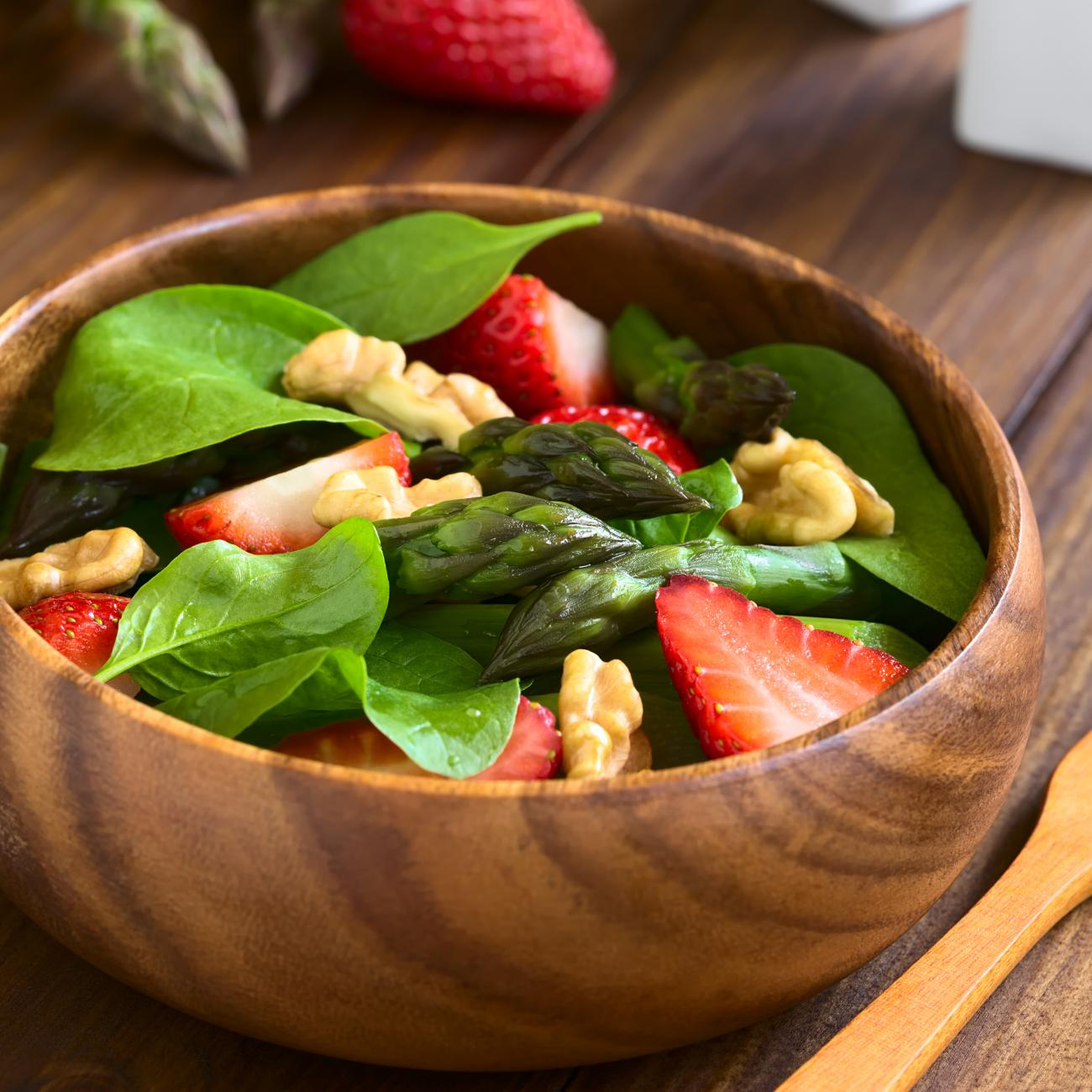 Recipe for Strawberry and Spinach Salad