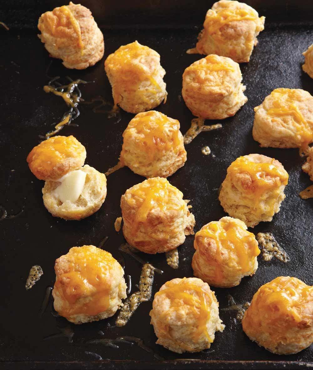 Recipe for Silver Dollar Cheese Biscuits