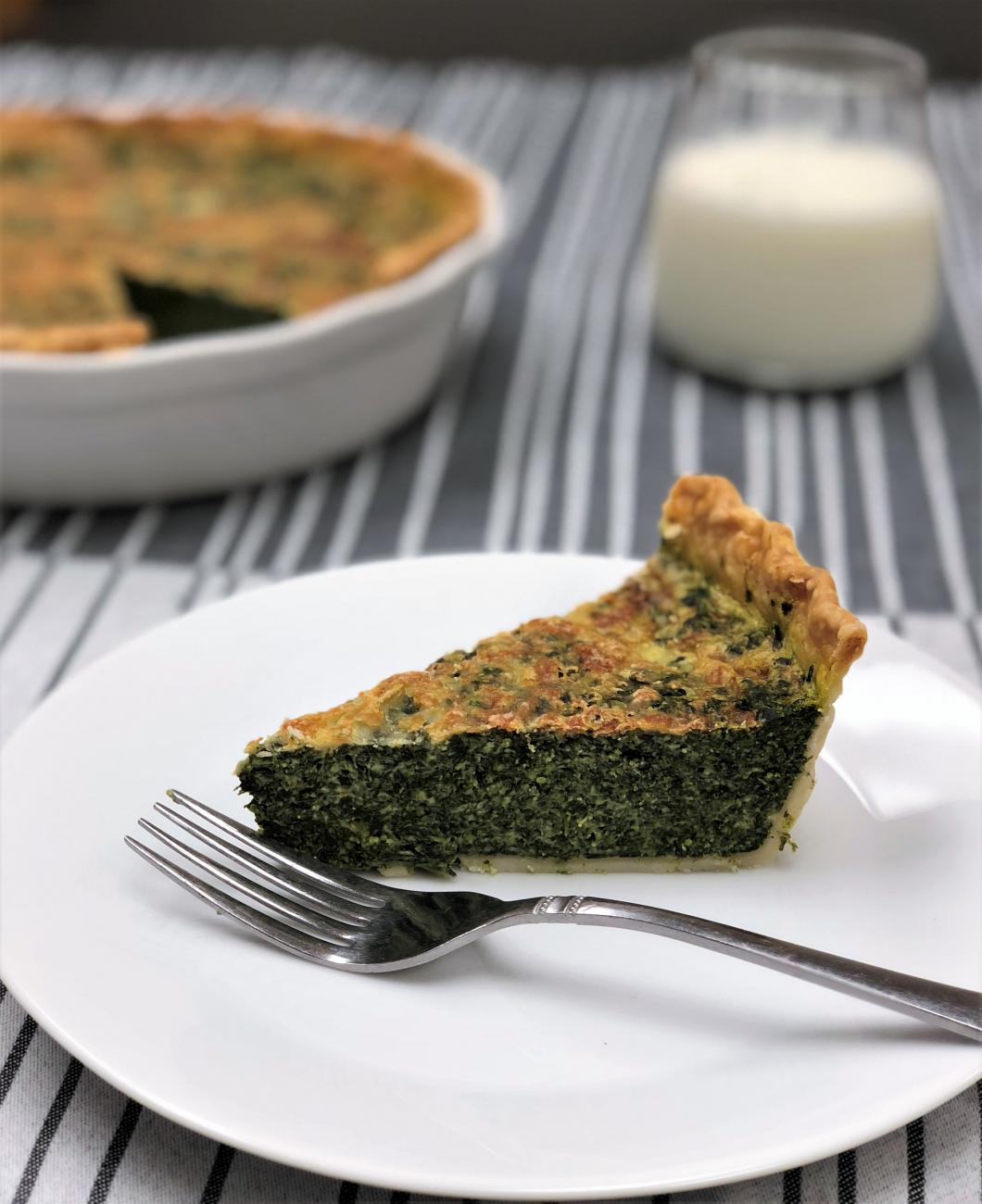 Recipe for Spinach Pie