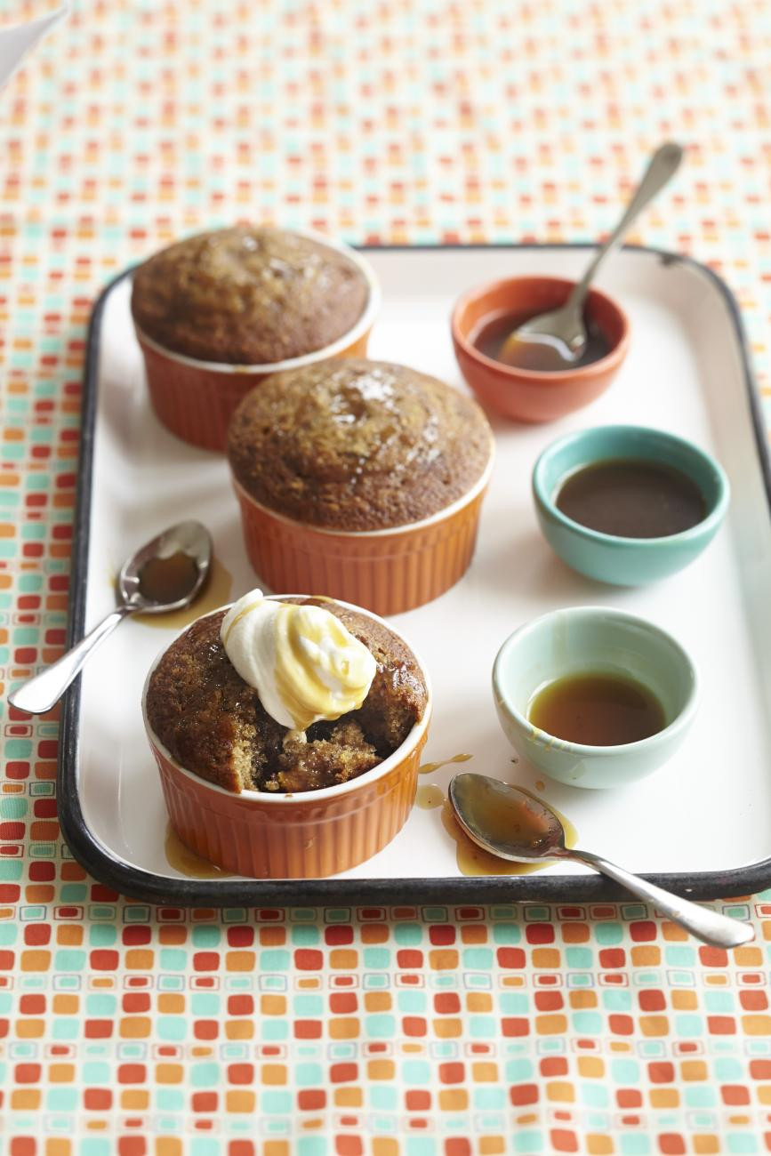 Recipe for Sticky Toffee Pudding With Butterscotch Sauce