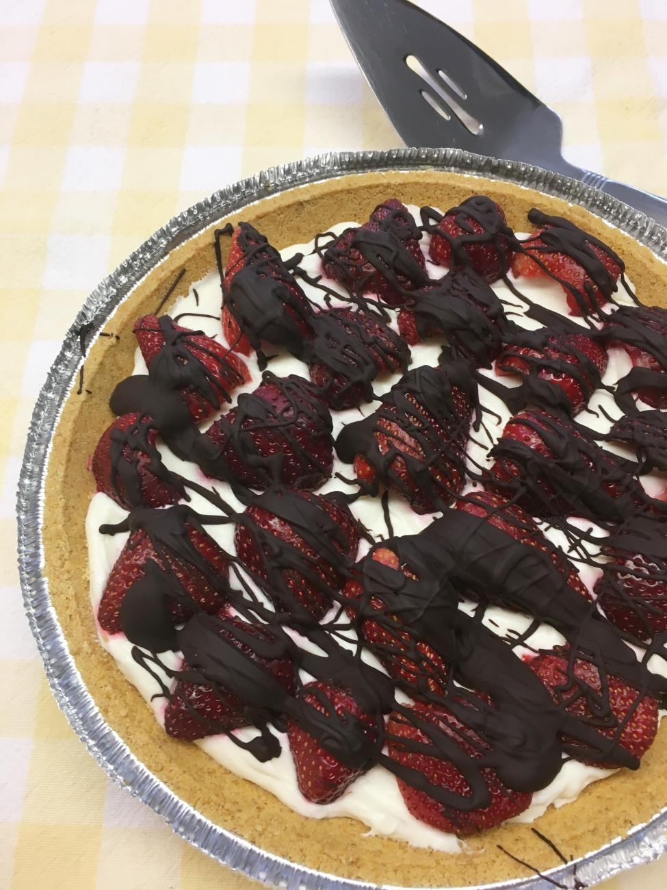 Recipe for French Strawberry Pie