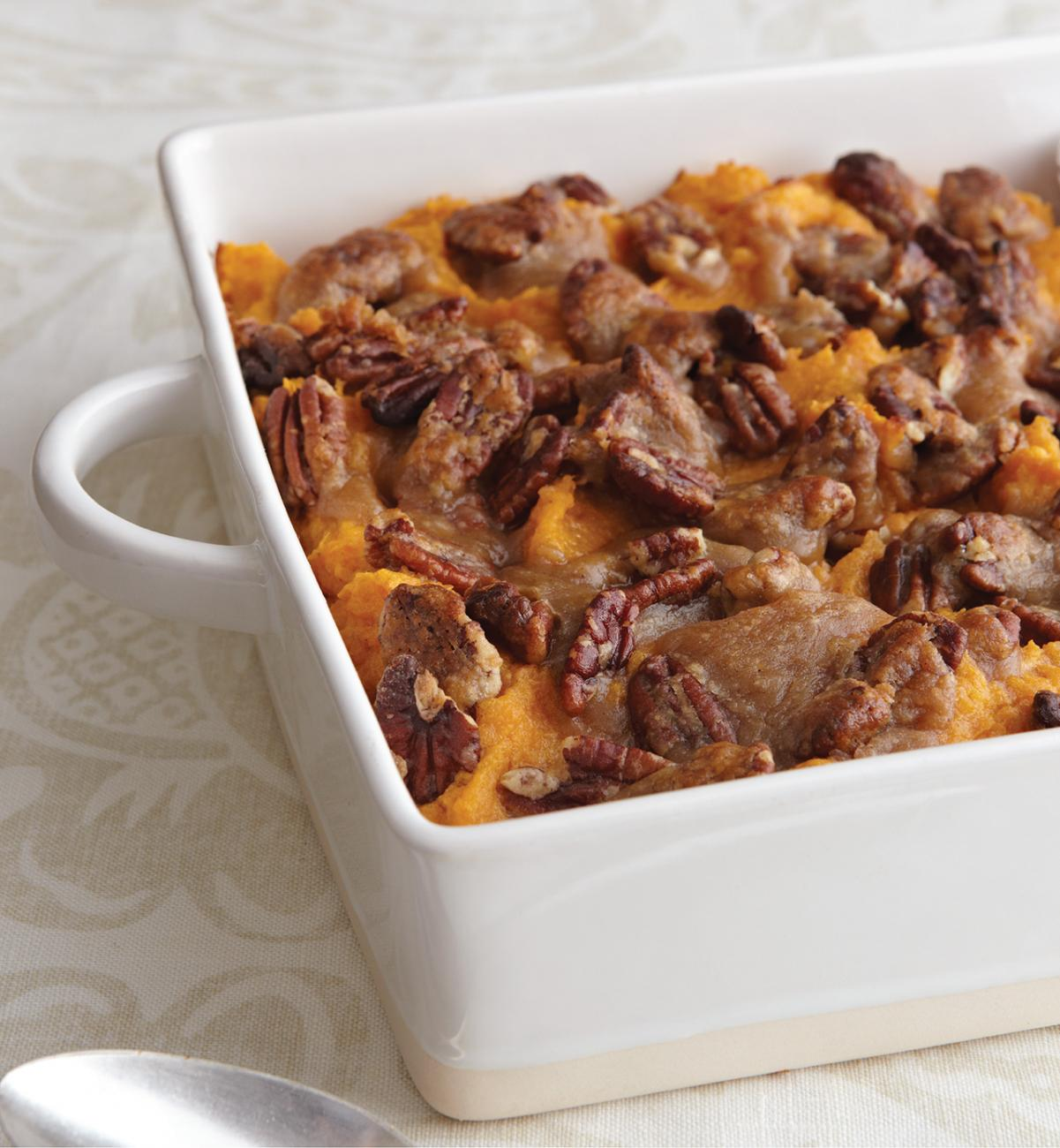 Recipe for Pecan-Crusted Sweet Potato Casserole