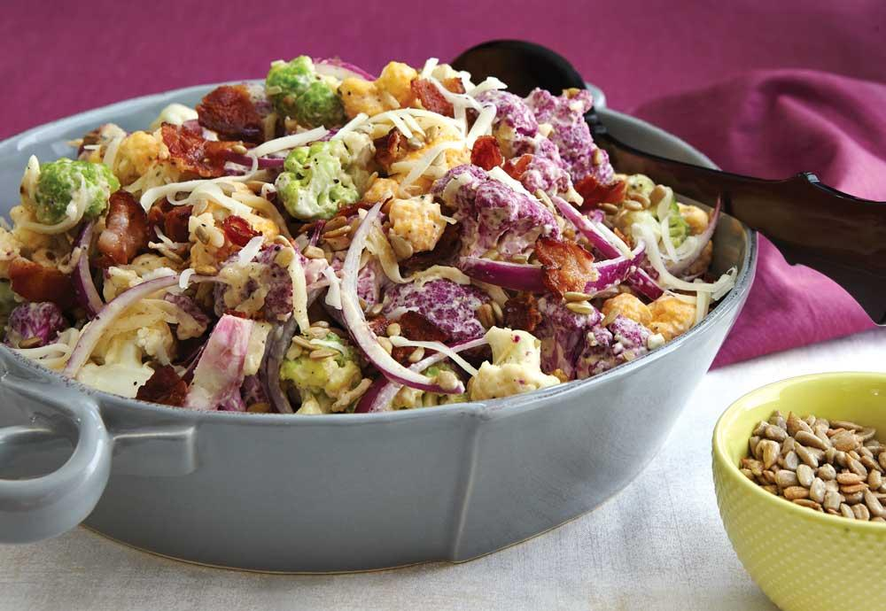 Recipe for Sweet 'n' Sunny Cauliflower Salad