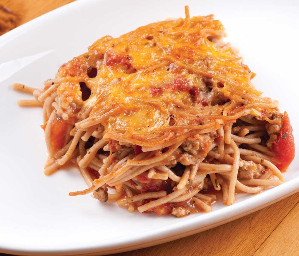 Recipe for Thin Spaghetti Pie