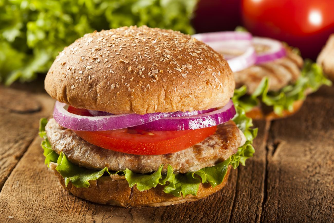 Recipe for Herbed Turkey Burgers