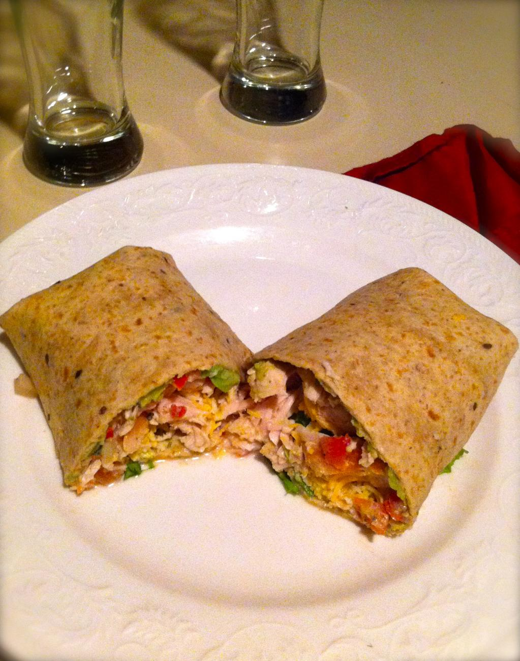 Recipe for Turkey Burritos