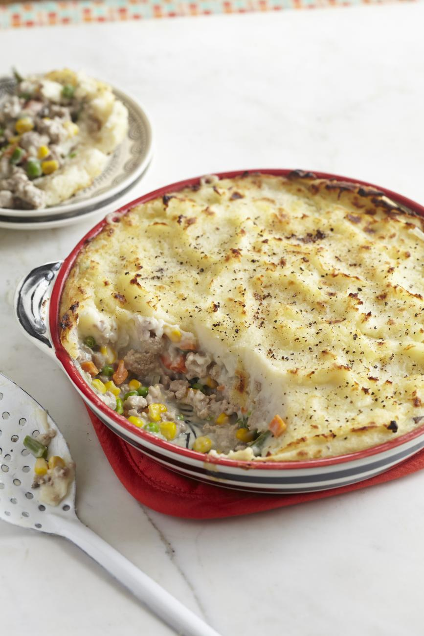 Recipe for Turkey Shepherd's Pie