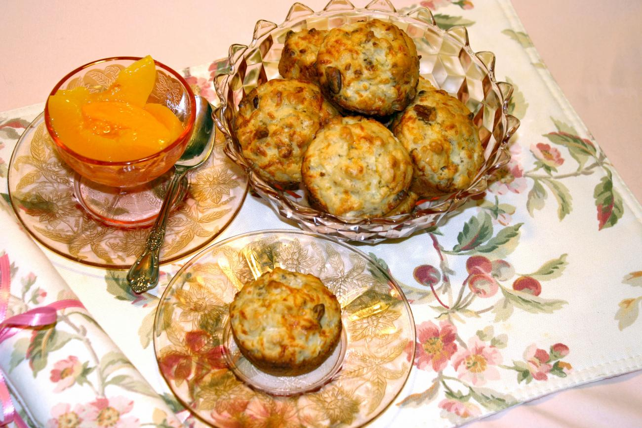 Recipe for Barbara's Vidalia Muffins
