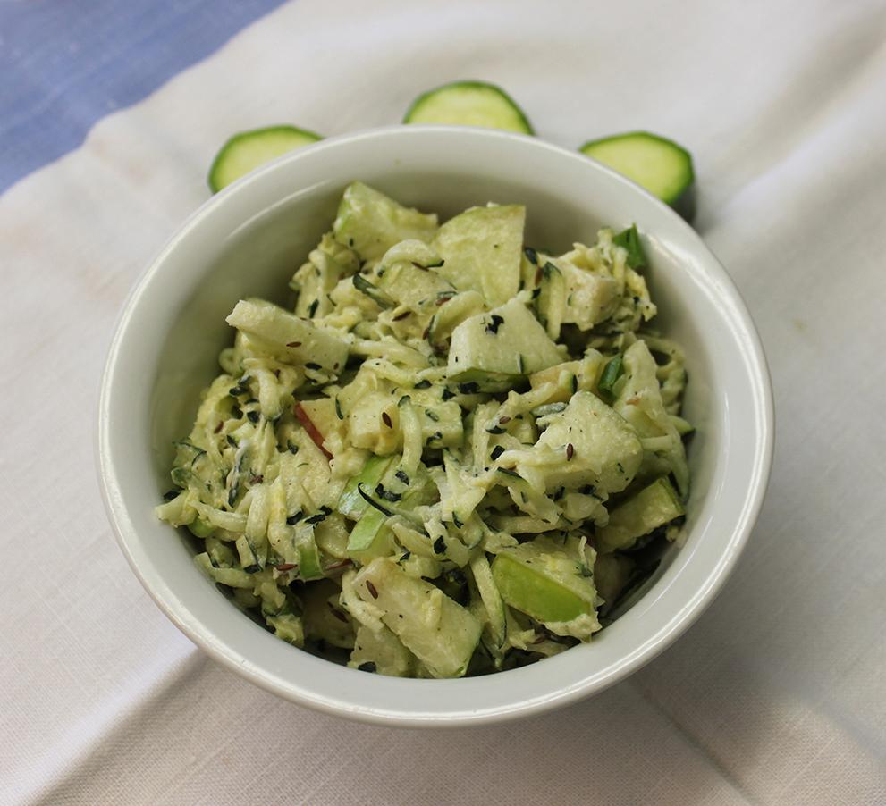 Comfort Food Recipes From The Old Farmer S Almanac: Apple Zucchini Slaw Recipe