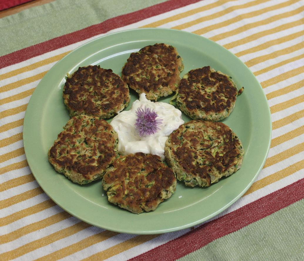 Recipe for Zucchini Mock Crab Cakes