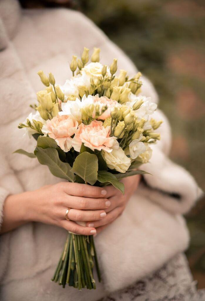 Wedding Bouquet in White