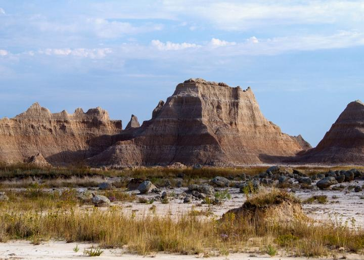 Badlands National Park. Photo by Pixabay