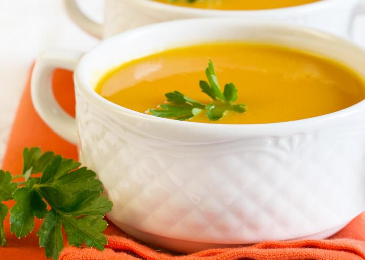 Ginger Thai Pumpkin Bisque. Photo by MShev/Shutterstock.
