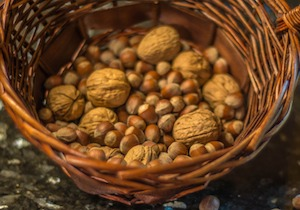 basket of nuts