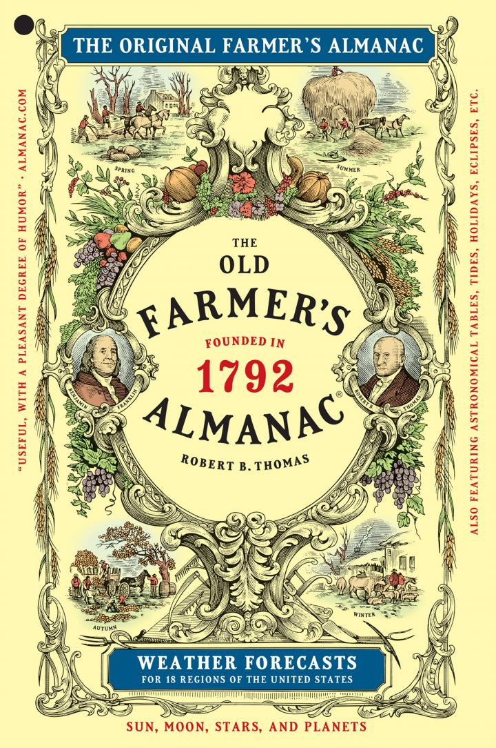 The Old Farmer's Almanac (*not to be confused with the Farmer's Almanac) just issued its / winter weather prediction / forecast and their outlook largely .
