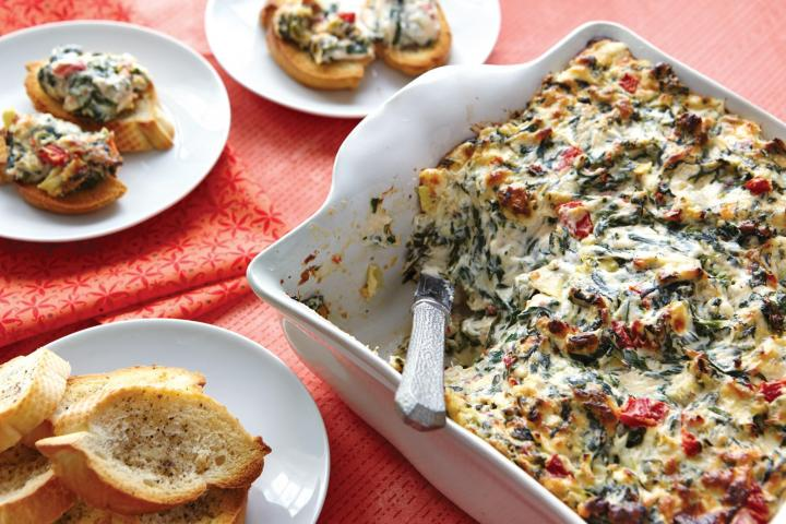 Florentine Spinach Dip. Photo by Becky Luigart-Stayner