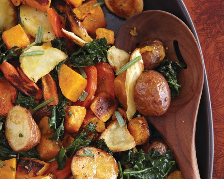 Autumn Roasted Vegetables. Photo by Becky Luigart-Stayner.