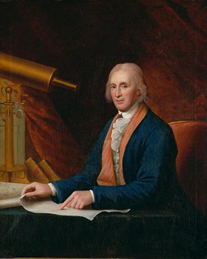 David Rittenhouse by Charles Wilson Peale