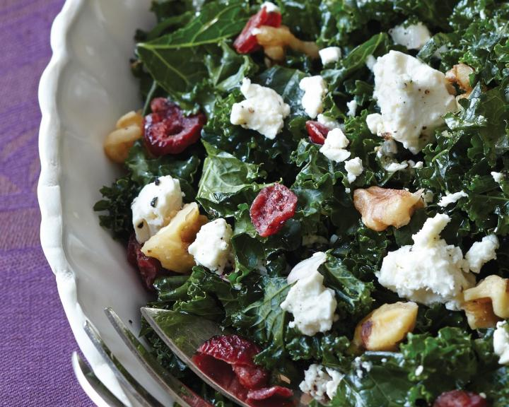 Harrisville Kale Salad. Photo by Becky Luigart-Stayner.