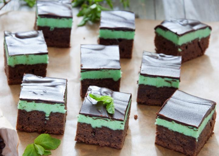 Peppermint Brownies by Letterberry/Getty Images