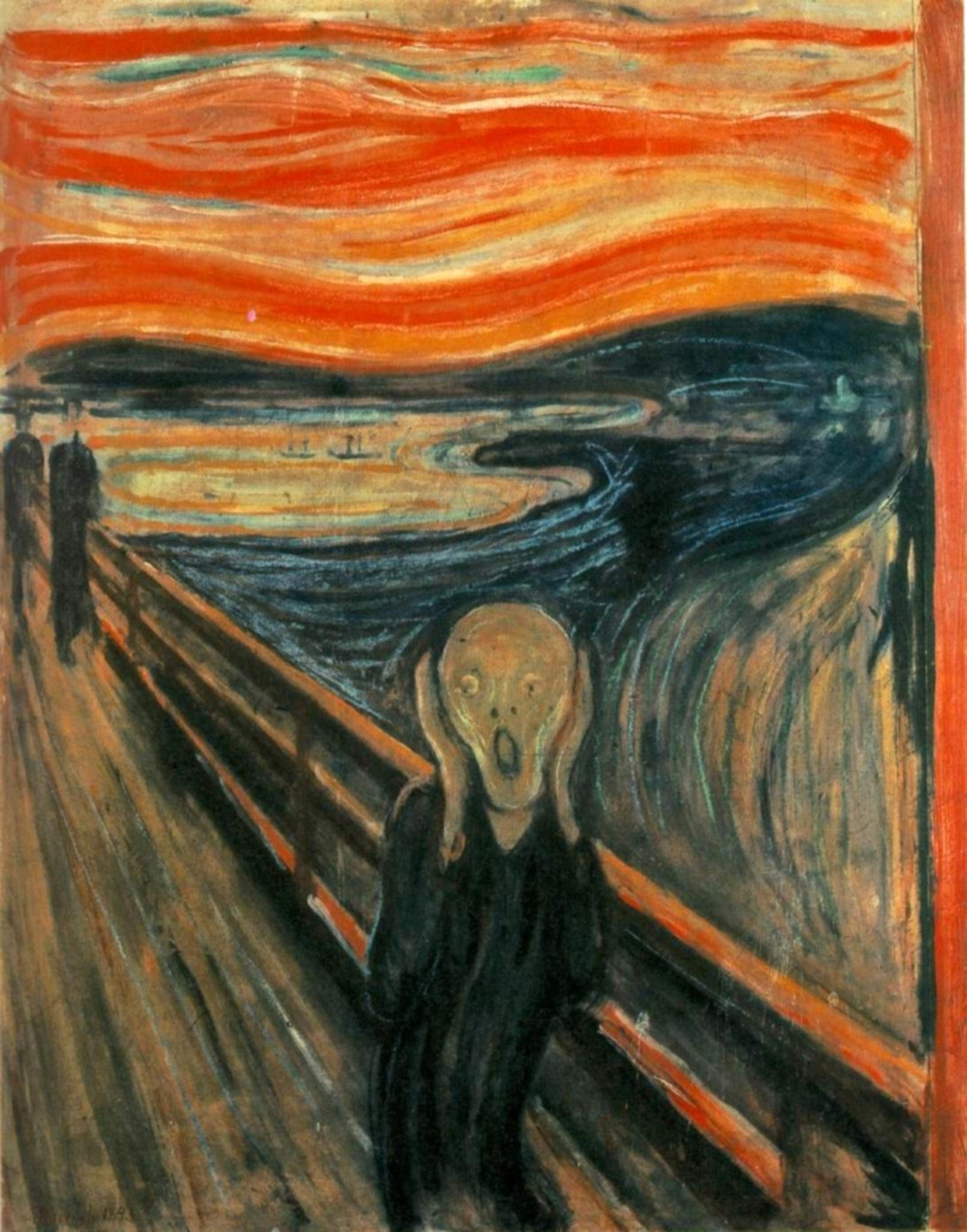 Edvard Munch's famous painting The Scream was inspired by vivid red sunsets caused by a volcanic eruption.