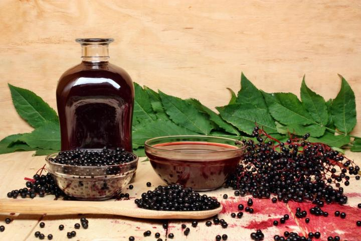 Elderberry syrup. Photo by Adam88xx/Getty Images