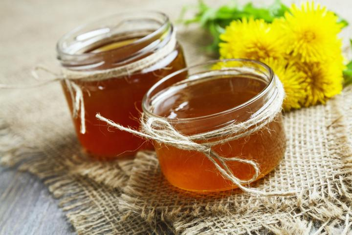Dandelion Jelly. Photo by minadezhda/Shutterstock.