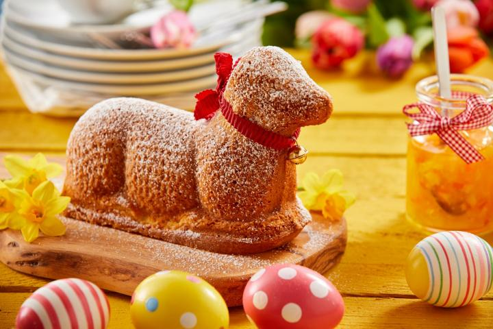 Lamb cake. Photo by Stockcreations/Shutterstock.