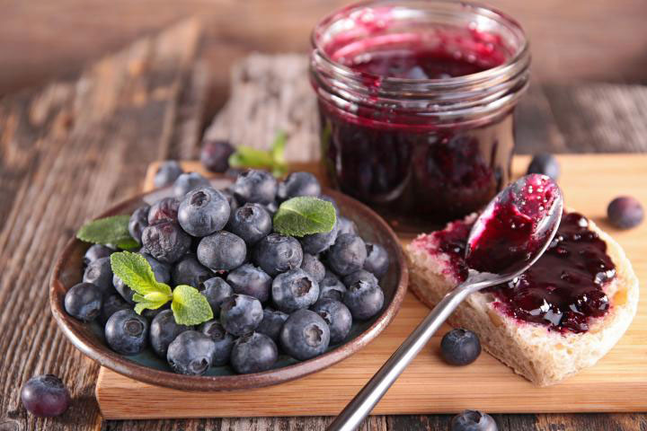 Blueberry Jam. Photo Credit: Margouillat Photo/Shutterstock