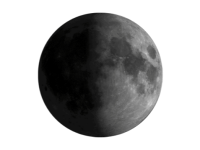 Image of first quarter moon