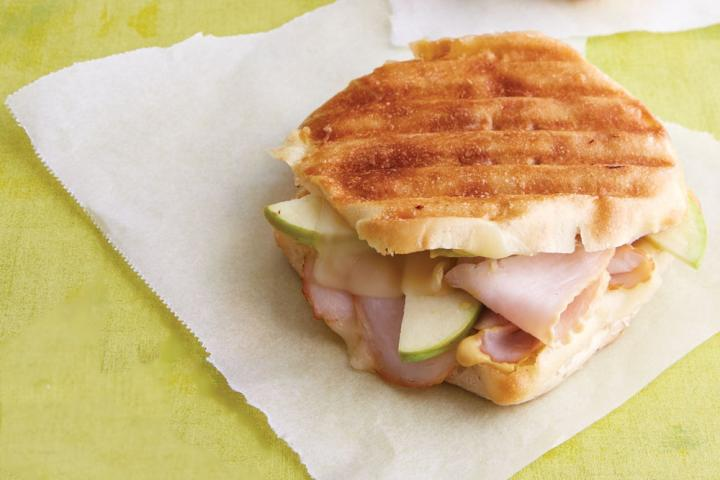 Turkey and green apple panini. Photo by Becky Luigart-Stayner