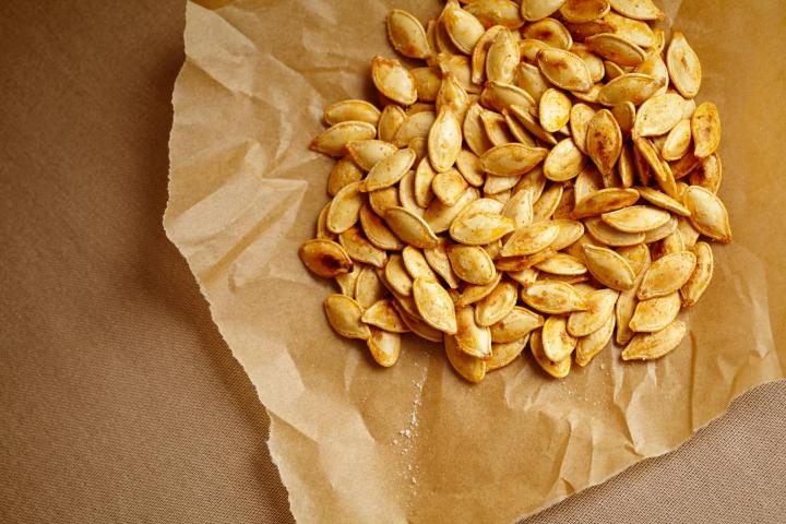 Roasted Pumpkin Seeds. Photo by Denise Torres/Shutterstock
