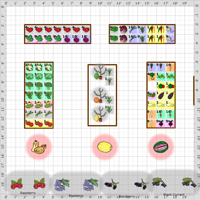 Square Foot Garden Plans Layouts The Old Farmer S Almanac