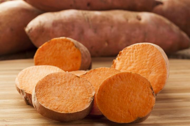 Sweet potatoes. Photo Credit: Brent Hofacker/Shutterstock