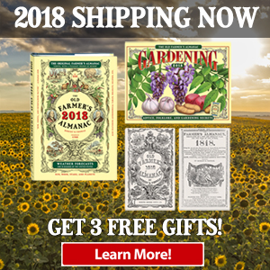 Order the 2018 Almanac Now!
