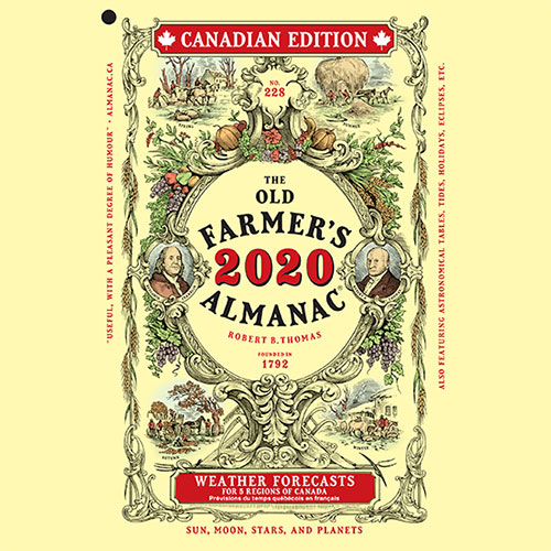 2020 Almanac Canadian Edition