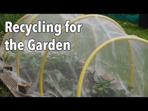 Reusing And Recycling Household Items For Gardening The Old