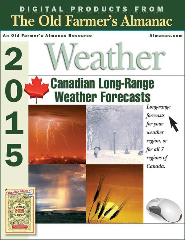 2015 canadian long range weather forecast by regions