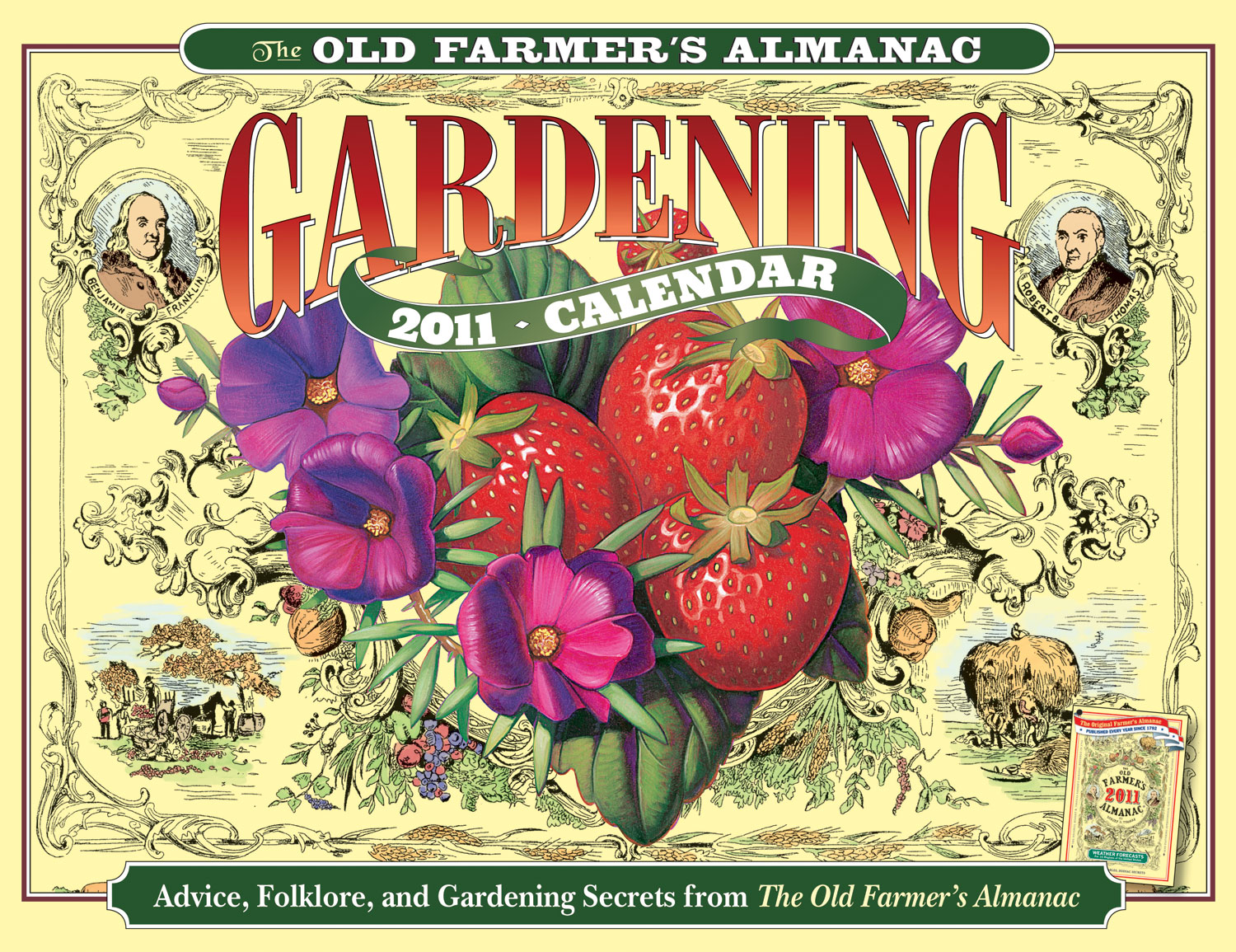Promotional Images for Calendars and Books The Old Farmers Almanac