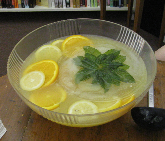 Mint Chiller Punch Recipe