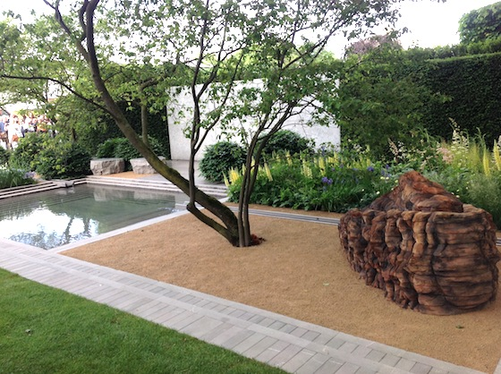 Chelsea flower show choose your favorite garden the old for Pool and garden show