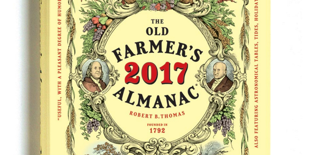 Almanac anniversary timeline old farmer 39 s almanac for Farmers almanac for fishing