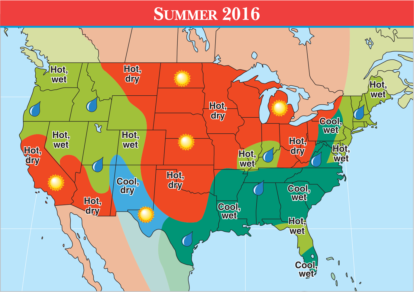 Weather Forecast Us Map - Us weather map for tomorrow