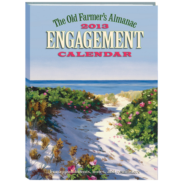 2013 engagement calendar old farmer 39 s almanac for Farmers almanac for fishing
