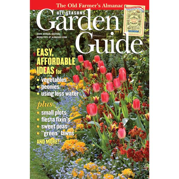 Free gardening guide download almanac garden guide 2009 for Farmers almanac fishing calendar