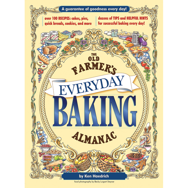 The old farmer 39 s almanac everyday baking cookbook the for Farmers almanac fishing calendar