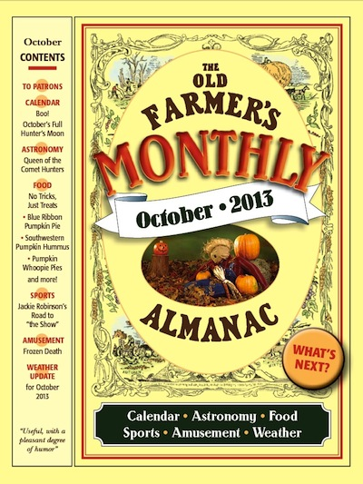 Five fascinating facts old farmer 39 s almanac monthly for Fishing farmers almanac